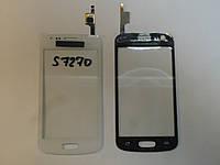 Сенсор Samsung S7270 S7272 S7275 orig + самоклейка Galaxy Ace 3 White
