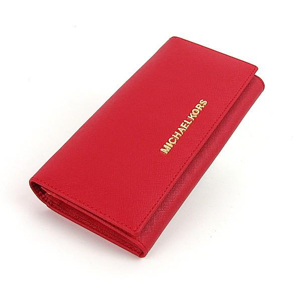 Кошелек женский Michael Kors кожаный красный - Интернет магазин сумок  SUMKOFF - женские и мужские сумки 29fe707cc43