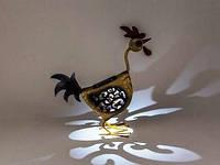 FRIDA Светильник уличный солнечный декор Петух (IP44)