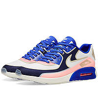 Оригинальные  кроссовки Nike W Air Max 90 Ultra 2.0 SI Sail & Blue