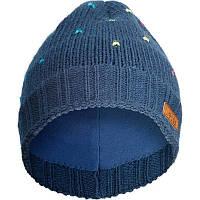 Шапка лыжная женская WED'ZE DOTS синяя