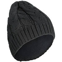 Шапка лыжная женская WED'ZE WARM 500 черная