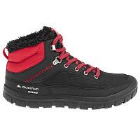Ботинки детские Quechua MID ARPENAZ 100 WARM черные