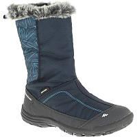 Ботинки детские Quechua MID ARPENAZ 500 WARM синие