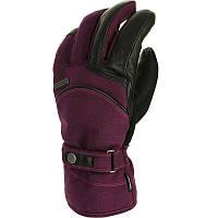 Перчатки женские лыжные сноубордические Wed'ze SLIDE 500 фиолетовые