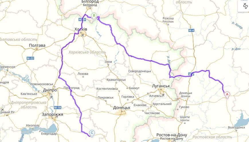Перевозка сельскохозяйственного оборудования Россия → Украина