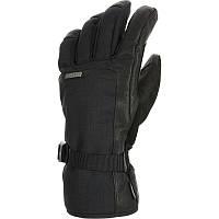 Перчатки мужские лыжные сноубордические Wed'ze SLIDE 500 черные