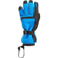 Перчатки мужские лыжные сноубордические Wed'ze SLIDE 500 голубые
