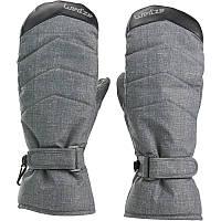 Перчатки женские лыжные сноубордические Wed'ze SLIDE 300 серые