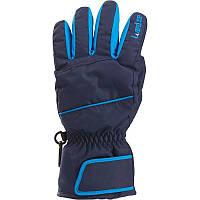 Перчатки детские лыжные сноубордические Wed'ze SLIDE 300 синие