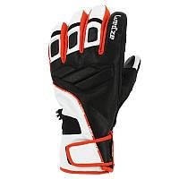 Перчатки детские лыжные сноубордические Wed'ze SLIDE 900 черные