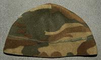 Тёплая шапка в камуфляже, детская (48см.)
