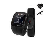 Часы водонепроницаемы, пульсометр POLAR GPS M400 HR черные