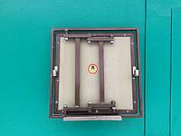 Ревизионный сдвижной люк под плитку, c замками Hafele