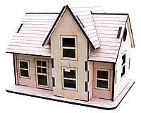 Деревянные 4D пазлы Загородный домик