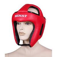 Шлем для карате Senat красный