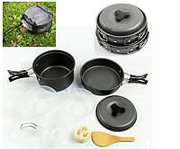 Набор посуды из анодированного алюминия. Походный набор. Отличное качество. Не дорого. Код: КГ129