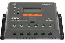 Контроллер заряда EPSOLAR VS3024BN, 30A 12/24В, фото 2