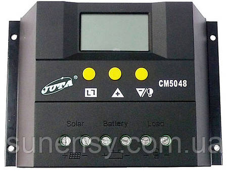 Контроллер заряда JUTA CM5048 (50A 48V), фото 2