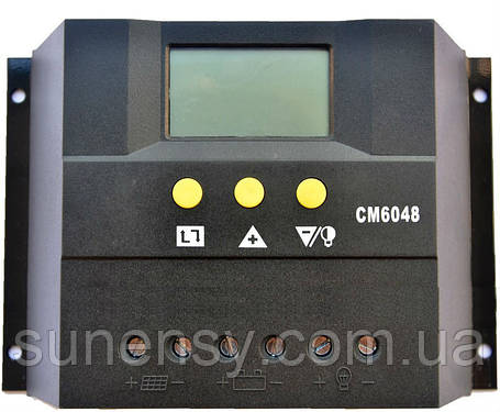 Контроллер заряда JUTA CM6048 (60A 48V), фото 2