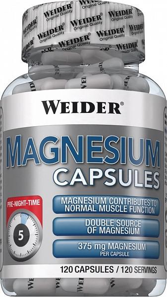 Weider Magnesium caps 120 caps