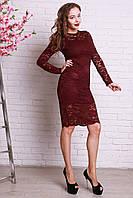 Красивое гипюровое женское платье оптом и в розницу