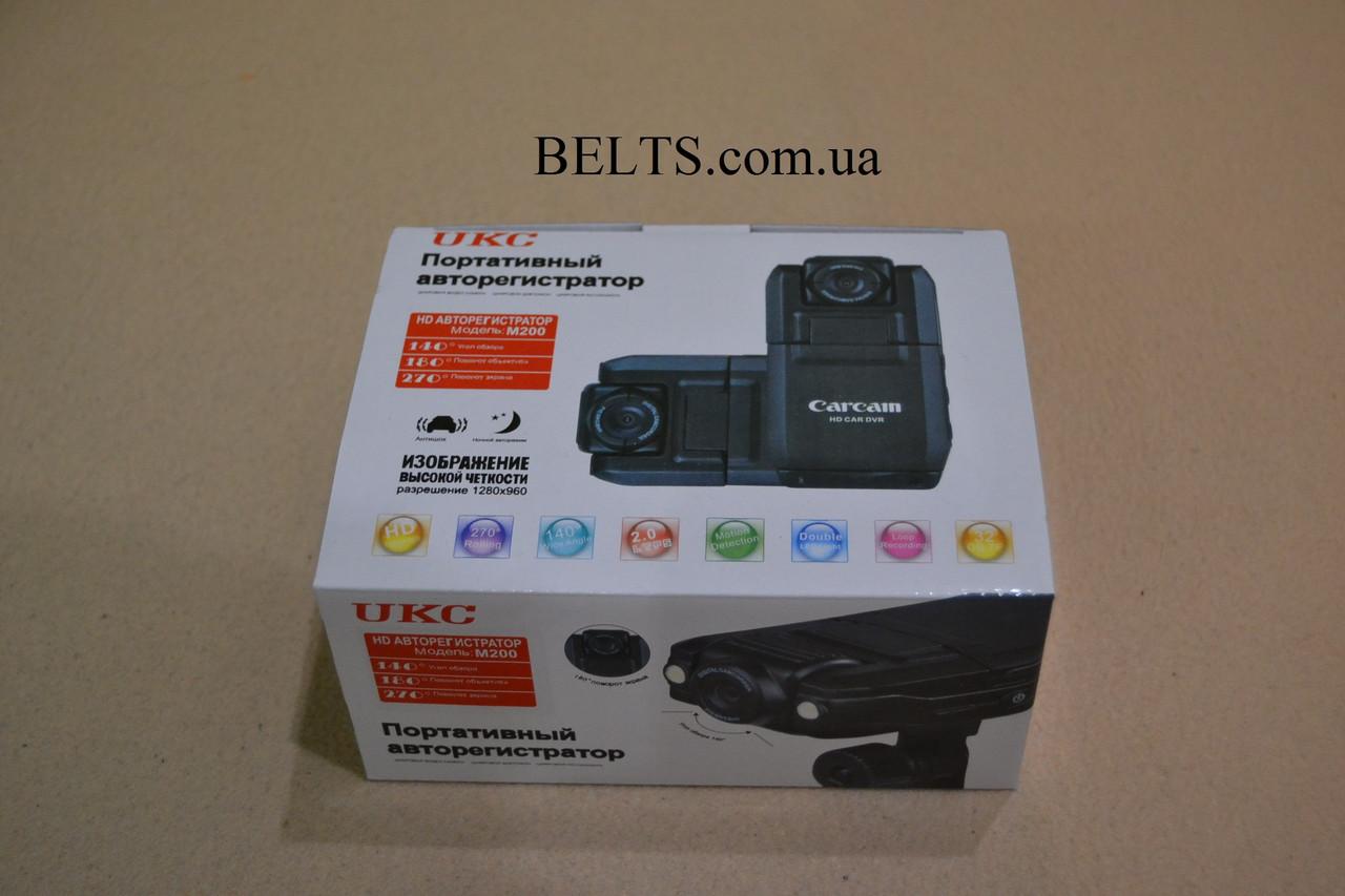 Портативный Видеорегистратор с вращающейся камерой UKG. Модель М200