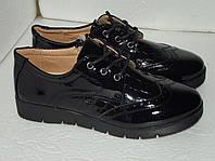 Новые лаковые туфли, р. 30 (18,7см), 37(23,5см)