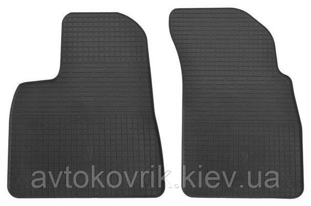 Резиновые передние коврики в салон Audi Q7 (4M) 2015- (STINGRAY)