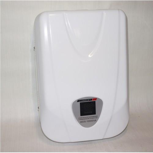 Стабилизатор напряжения Luxeon WDS-10000 сервоприводный для дома