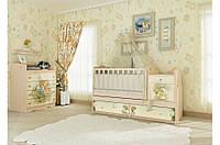 """Кроватка трансформер для малышей 5в1 """"М+Д"""""""