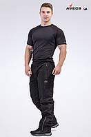 Брюки мужские флис Avecs AV-70044 Black Черный Авекс Размеры M