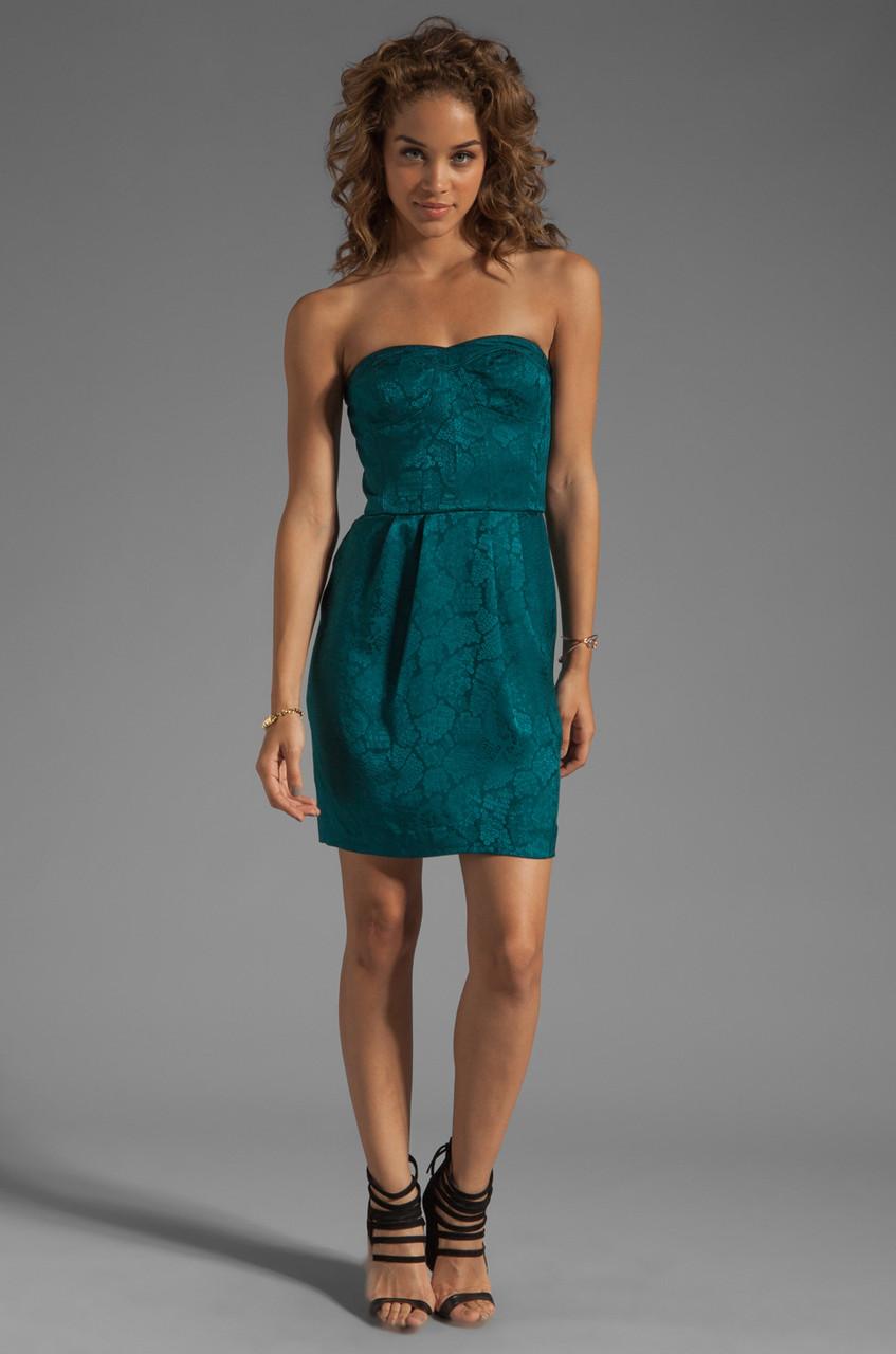 Платье Rebecca Taylor, Emerald