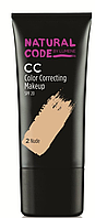 Lumene Natural Code CC Color Correcting Makeup №2  (оригинал подлинник  Финляндия)