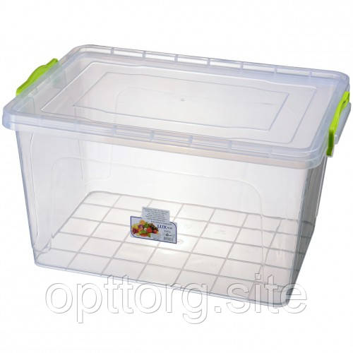 Контейнер пластиковый прозрачный Lux №9 23 л