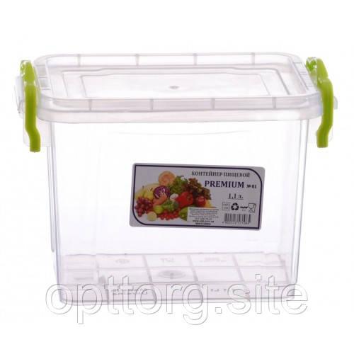Контейнер пищевой  высокий Premium №1 1.1 л