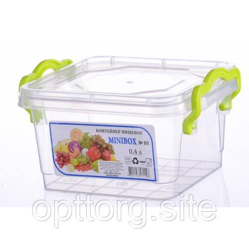 Контейнер пищевой Minilux №2 0.4 л