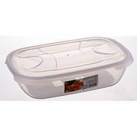 Контейнер пищевой пластиковый овальный 2 л