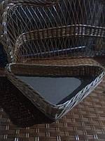Плетеный лоток под заказ, фото 1