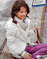 Демисезонная спортивная курточка на девочку рост 116 для девочки куртка Alive