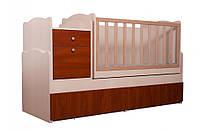 """Кровать для новорожденных трансформер """"Дадон"""" 5в1"""