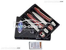 Накладки на дверные ручки для Toyota Land Cruiser Prado 120