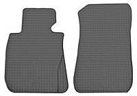 Резиновые передние коврики для BMW 1 (E81) 2004-2012 (STINGRAY)