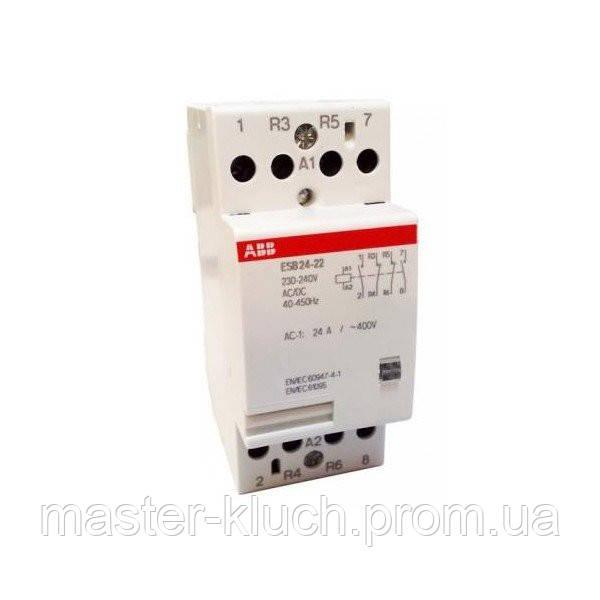Контактор  ABB ESB 24-22,  24A, 2НО+2НЗ, фото 1