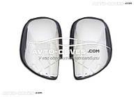Хромированные накладки на зеркала для Toyota Land Cruiser Prado 120