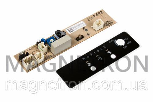 Модуль управления + эмблема + 2 кнопки для холодильников Gorenje 489763+321741+320897