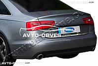 Накладка на задний бампер Audi A6 AVANT 2004-2011