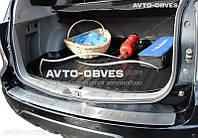 Накладка на задний бампер Subaru Forester III