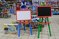 Мольберт для рисования мелом и маркерами  для детей