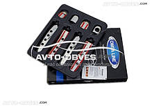 Накладки на дверные ручки для Skoda Octavia A4 Tour с перфорацией
